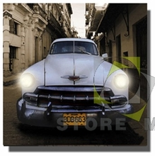 Picture Car Large Canvas LED Wall Art Kids' Room Decor