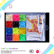 wholesal plastic kids educational toy custom colours Hama beads for 2017 fuse beads hot sale from zhejiang factory
