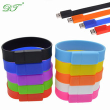 Bracelet Wristband High Speed 2gb USB Flash Drive Silicone