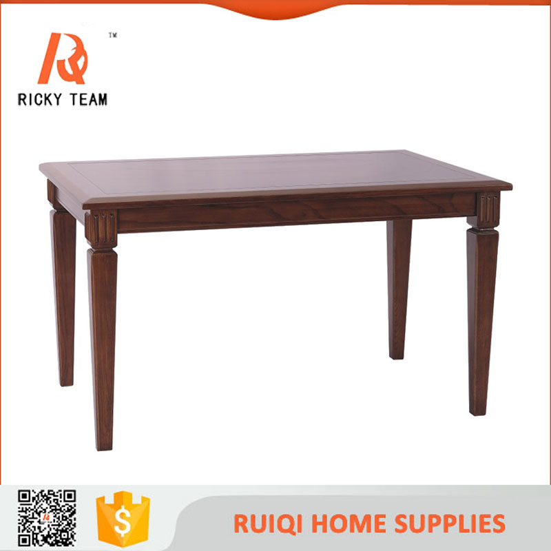Modern natural wood dining table wood colors furniture table