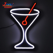 2017 hot selling bar decoration 3d custom led neon sign