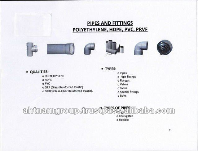 High Quality Plastic HDPE Pipe Fittings