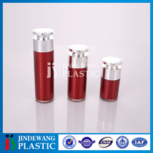 New design love shape rotary pump head plastic bottles, acrylic airless bottles for personal care