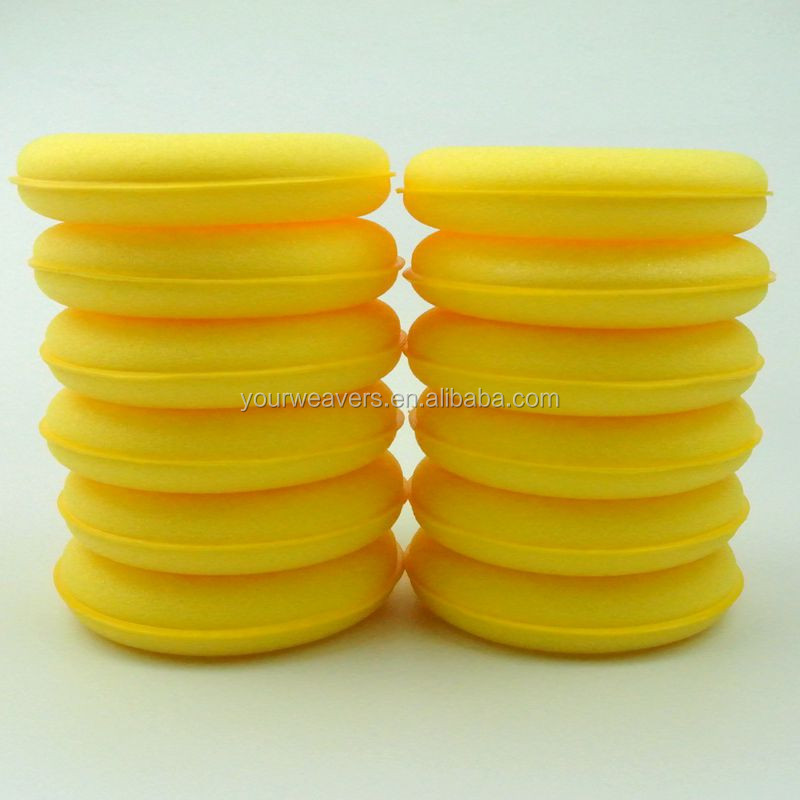 12x Car Cleaning Detailing Pads Polish Foam Sponge Wax Applicator