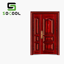 Modern hotel commercial double steel doors