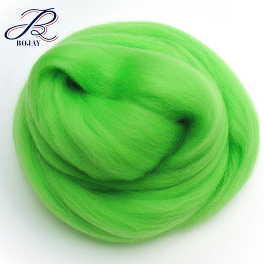 80s Super Chunky Yarn 100% Merino Wool Top Roving Micron 18.5 for needle felting