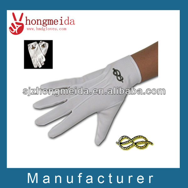 White Waiter Gloves Marching Band Gloves Parade Gloves