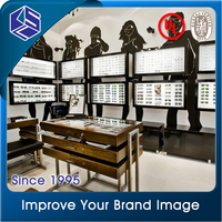 2016 excellent design optical display eyewear shop interior design