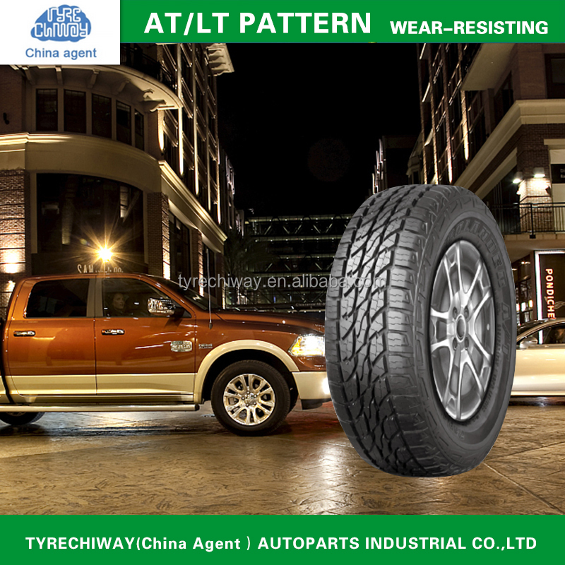 China Wholesaler PCR TIRE passenger tyre AT/LT pattern 245/70R16 with E4 certificate