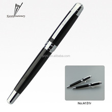 2016 new model top quality metal pen laser engraved logo pen
