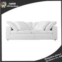 Classical Wooden Fabric Couch Love Seat and Chair Antique Table Set Classic Sofa for Living