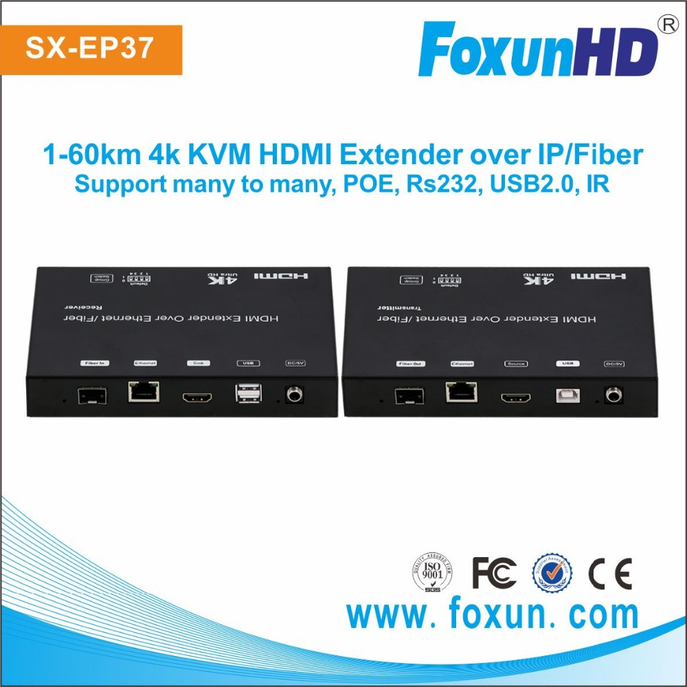 EP37 Shunxun HD POE home HDMI IP Extender support Unicast ,Multi cast ,Screen Wall