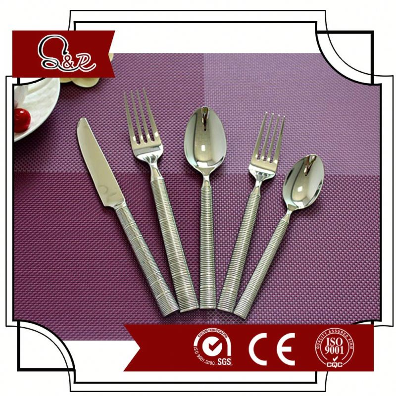 2016 high quality stainless steel 24pcs cutlery sets/ 24pcs cutlery sets