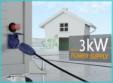 All in one system 3KVA solar power