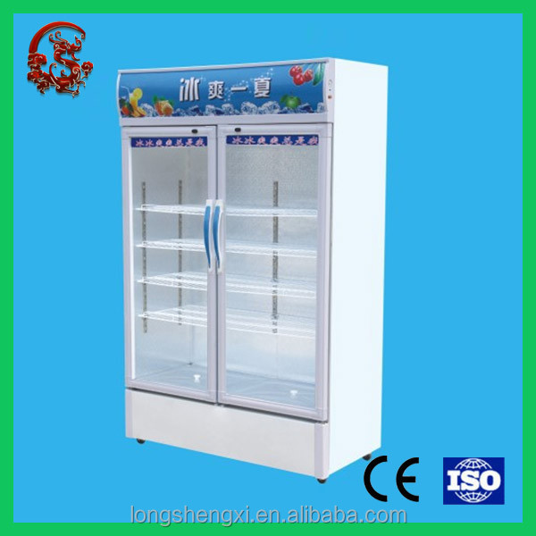 Double door series top freezer home refrigerators