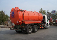 China 6x4 Suction Sewage Truck 10 Wheels with dependable performance