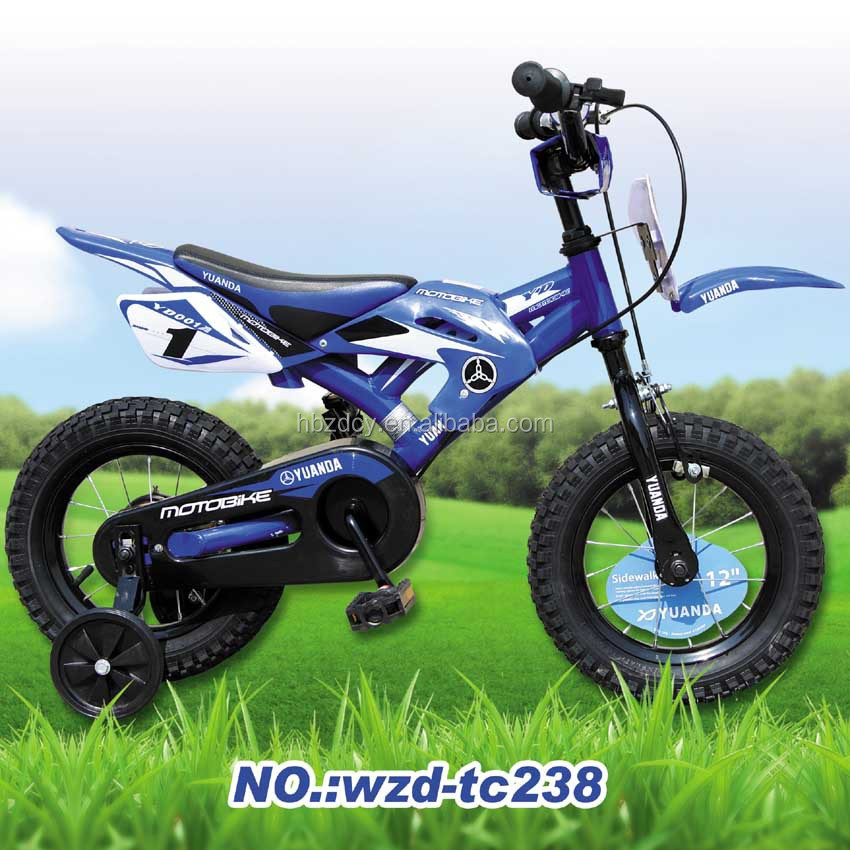 2016 new kids bike cheap motorcycle wholesale bicycle