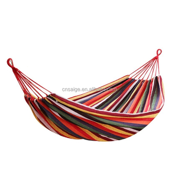 Hammock Cotton Hammock Outdoor relaxation Camping Hammock