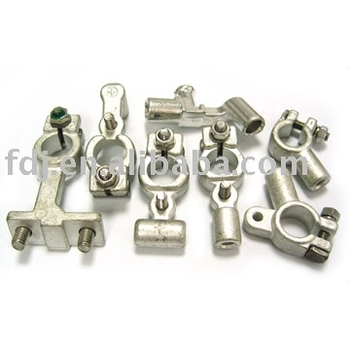 positive and negative forging battery terminals clamps