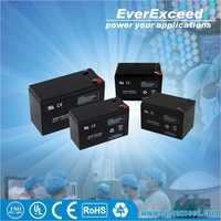 EverExceed 12v 9ah deep cycle small storage battery