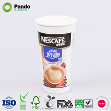 1 Litre Cups Hot Drinking Disposable Custom Paper Coffee Cup