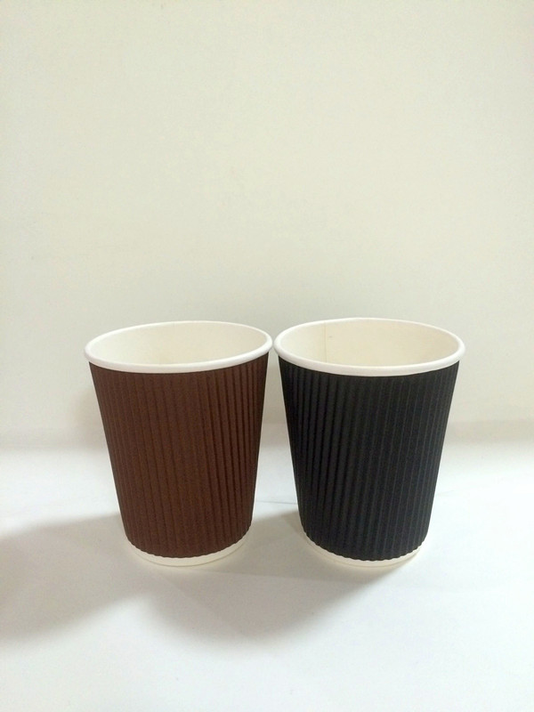 300ml paper cup for hot coffee with cover