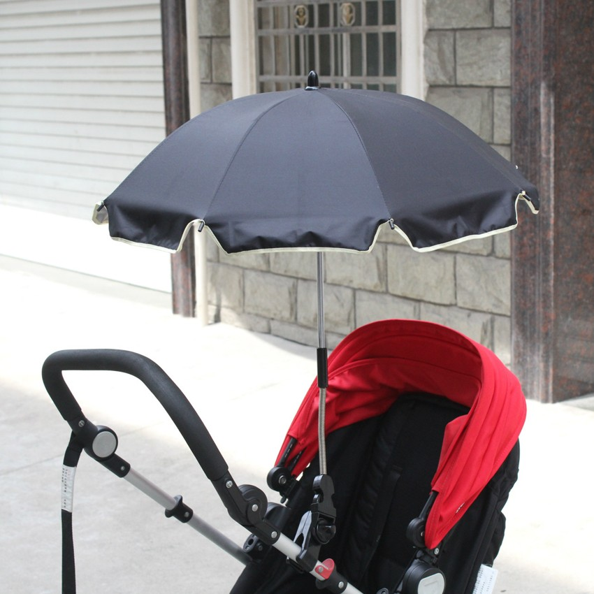 14inch x 8k adjustable baby stroller clamp outdoor umbrella for beach