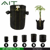 Greenhouse Or Garden Felt And Hydroponic Planter Pot And Fabric Pot