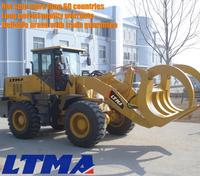 Chinese agricultural machinery 3.5 ton sugarcane loader with 3900mm max dumping height