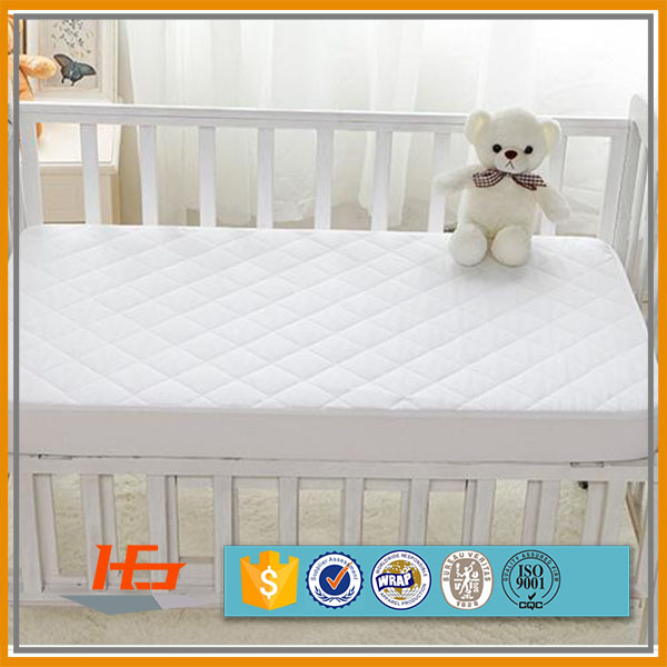 Quilted Waterproof Baby Crib Cot Size Mattress Pad Cover