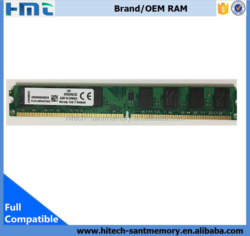 Hot brands alibaba lodimm ram memoria ddr2 2gb 800 mhz pc6400 desktop memory