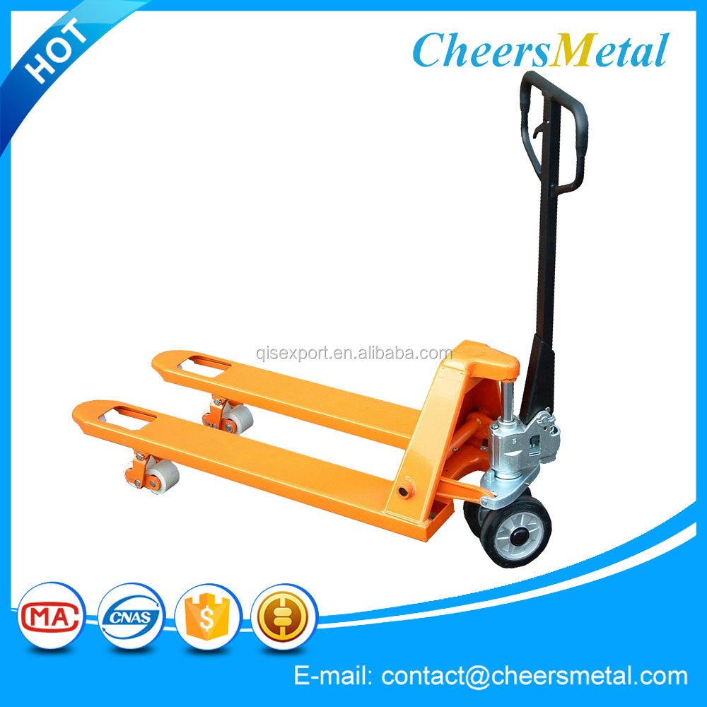 manual hydraulic lift pallet truck trolley