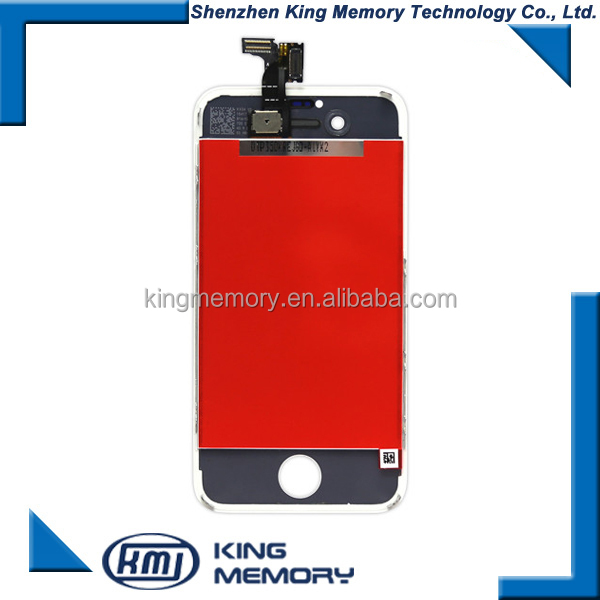 Mobile phones lcd screen repair for iphone 4S unlocked lcd, lcd for iphone 4S screen assembly