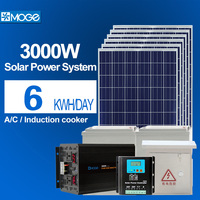 Moge 3kw solar power system with low configuration
