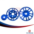 Crank Alternator Water pump Pulley for Toyota GT86 Scion FR-S Suba** BRZ 2012+ Blue PQY6858
