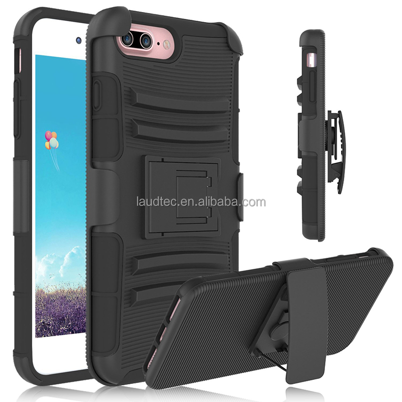 High quality mobile phone <strong>2</strong>+1TPU+PC Anti-skid Shockproof Rugged case for iphone 7 plus
