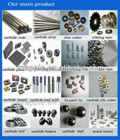 Trade assurance manufacturer of tungsten carbide products