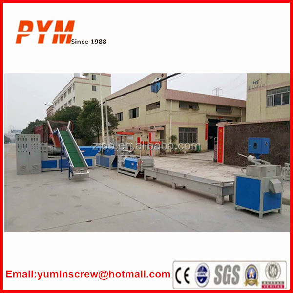 PET bottle recycling machine and recycling machines