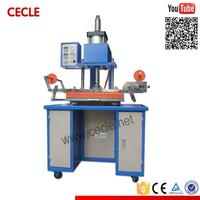 Small size high quality license plate hot stamping machine
