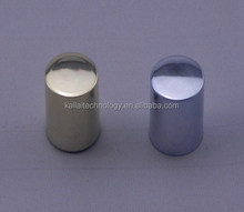 UV Silver and Gold electroplate plastic screw bottle cap for nail polish