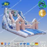 Outdoor Playground Snow White Inflatable Slide