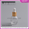 Round shaped 6ml glass essential oil bottles, glass dropper bottles for cosmetic