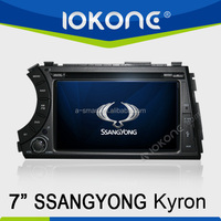 Support Rear-view Camera Special 2 din In Dash dvd player for SSANGYONG Kyron