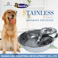 automatic feeder stainless steel pet dog fountain china pet supplies