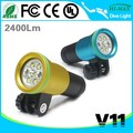 Magnetic switch dive flashlight 100m Waterproof Anti-corrosion Housing V11