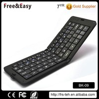 Ultra-Slim usb wireless portable bluetooth 3.0 folding keyboard for Android tablet