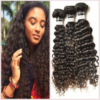 Real human drop shipping accept paypal can be dyed and bleach curly hair Factory sale virgin indian hair