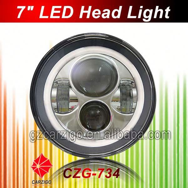 "2015 hot product 30w light off-road 7"" round for jeep wranglerr"