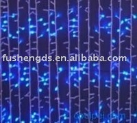 automastic color changing led blue curtain light