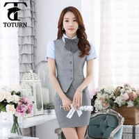 new 2016 Hot Selling made in china wholesale price tailor made fancy party office&teachers uniform for ladies